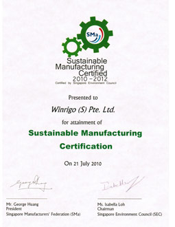 Sustainable Manufacturing Label