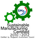 Sustainable Manufacturing Certified